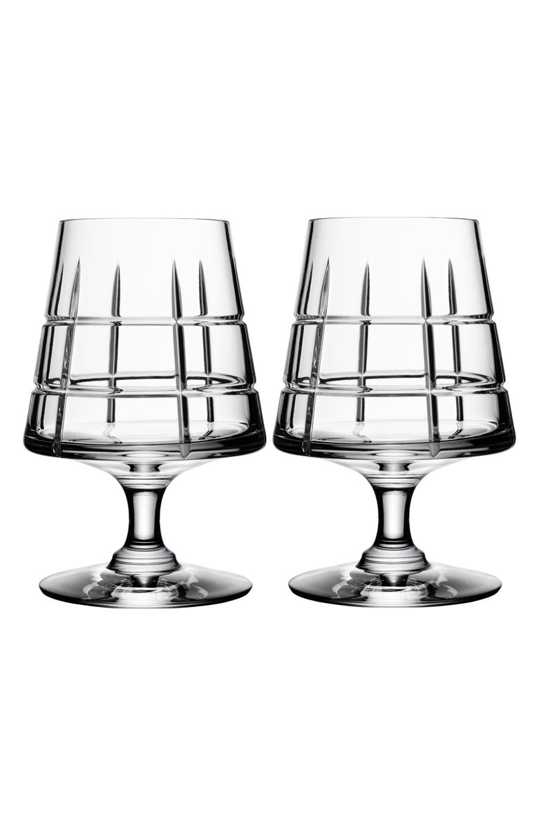 ORREFORS 'Street' Cognac Glasses, Main, color, 100