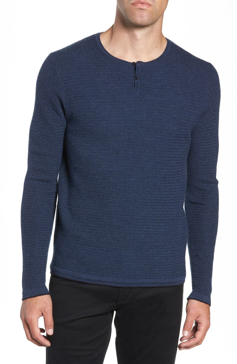 ZACHARY PRELL Hawthorn Wool Blend Thermal, Main, color, 400