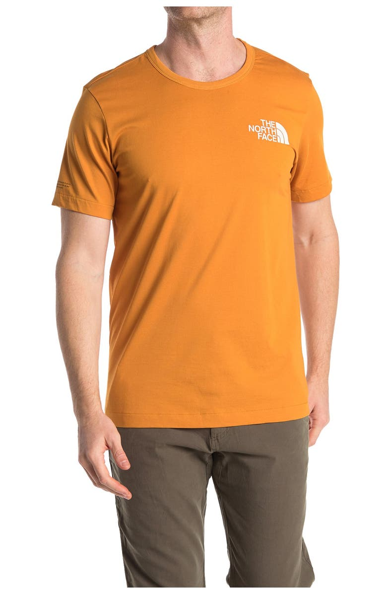 THE NORTH FACE Logo T-Shirt, Main, color, CITRINE YE