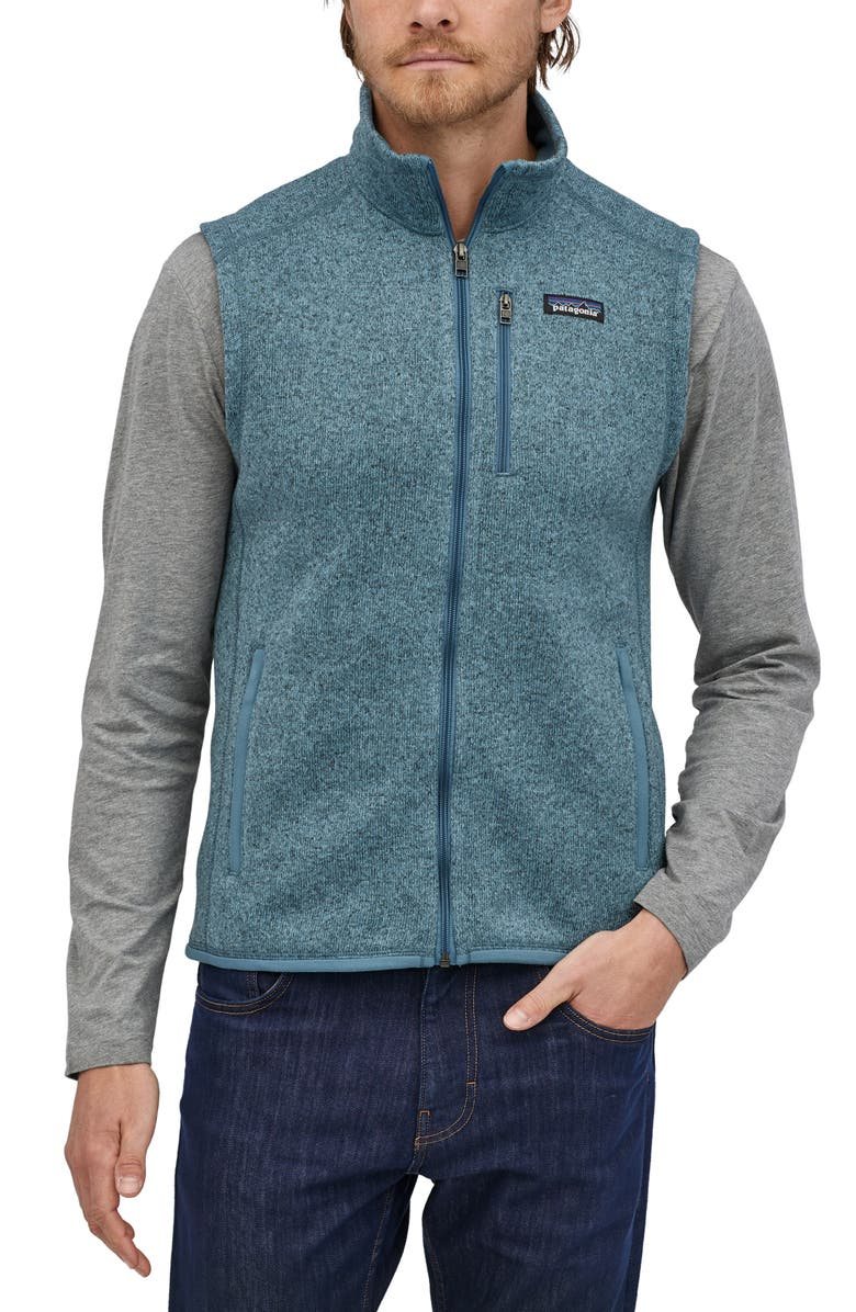 PATAGONIA Better Sweater<sup>®</sup> Zip Vest, Main, color, PIGEON BLUE