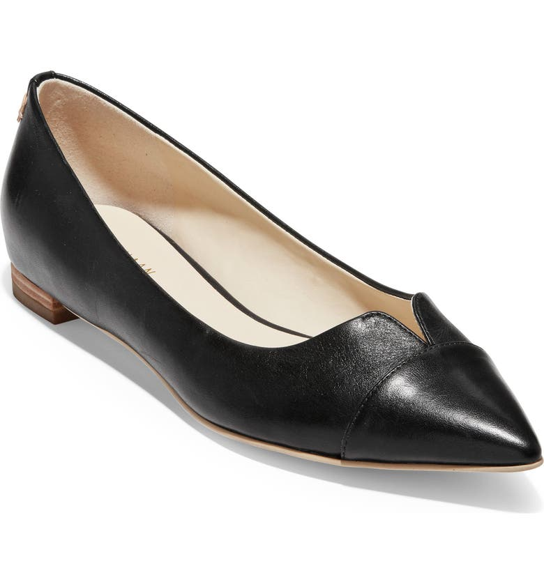 COLE HAAN Ednah Skimmer Flat, Main, color, 001
