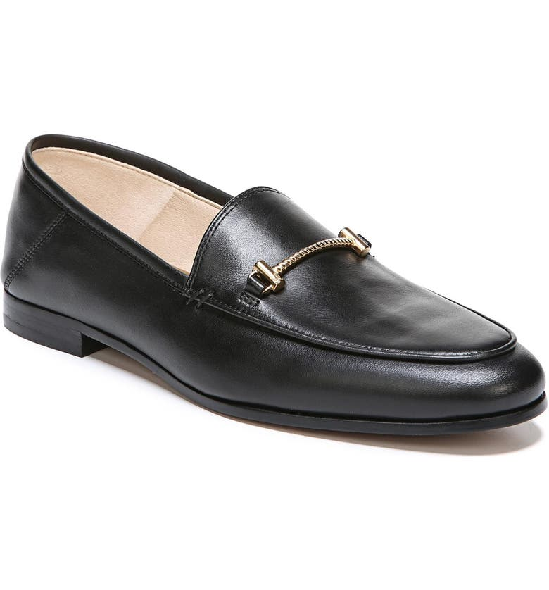 SAM EDELMAN Lior Loafer, Main, color, BLACK LEATHER