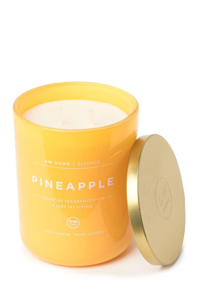 DW HOME Mod Summer Yellow Pineapple 15 oz. Candle, Main, color, YELLOW
