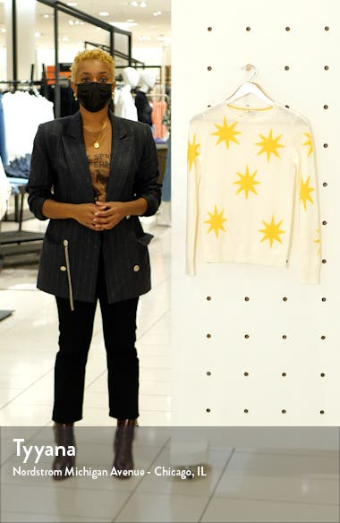 Star Pattern Cashmere Sweater, sales video thumbnail