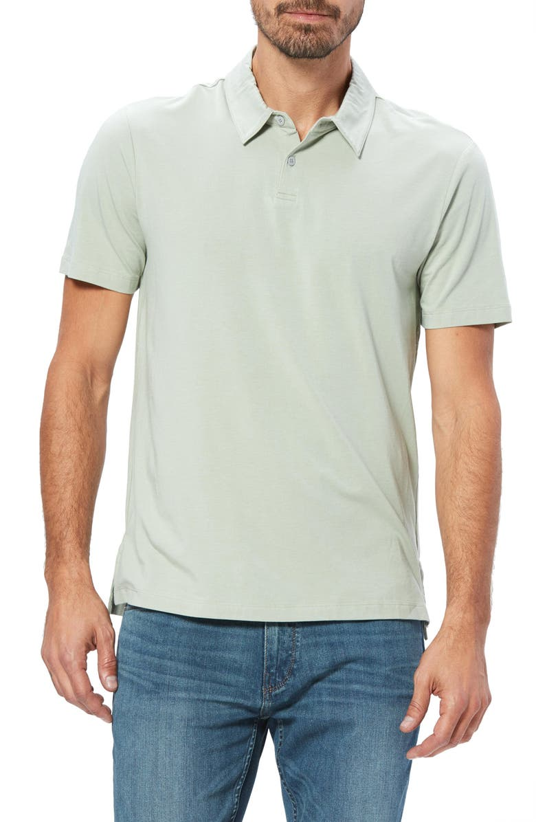 PAIGE Burke Slim Fit Polo, Main, color, 330