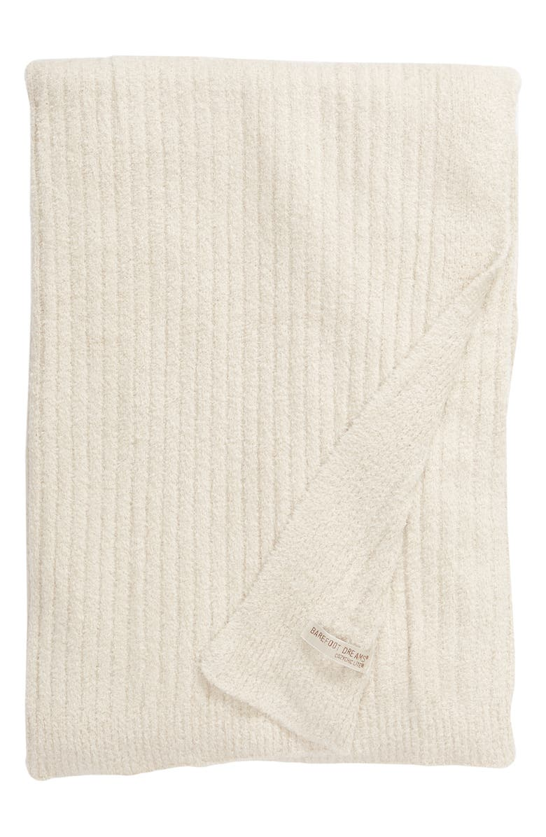 BAREFOOT DREAMS<SUP>®</SUP> Cozychic<sup>®</sup> Ribbed Throw Blanket, Main, color, 275