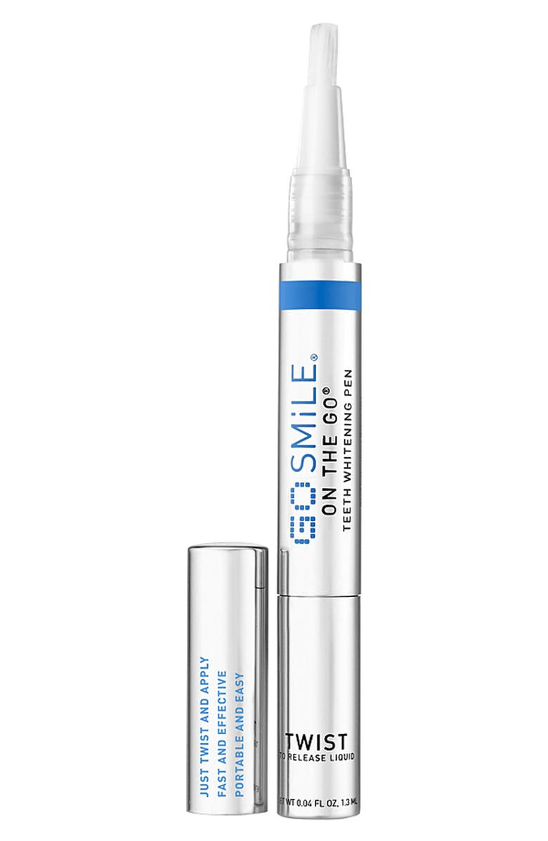 GO SMILE<SUP>®</SUP> 'On the Go<sup>®</sup>' Teeth Whitening Pen, Main, color, NO COLOR