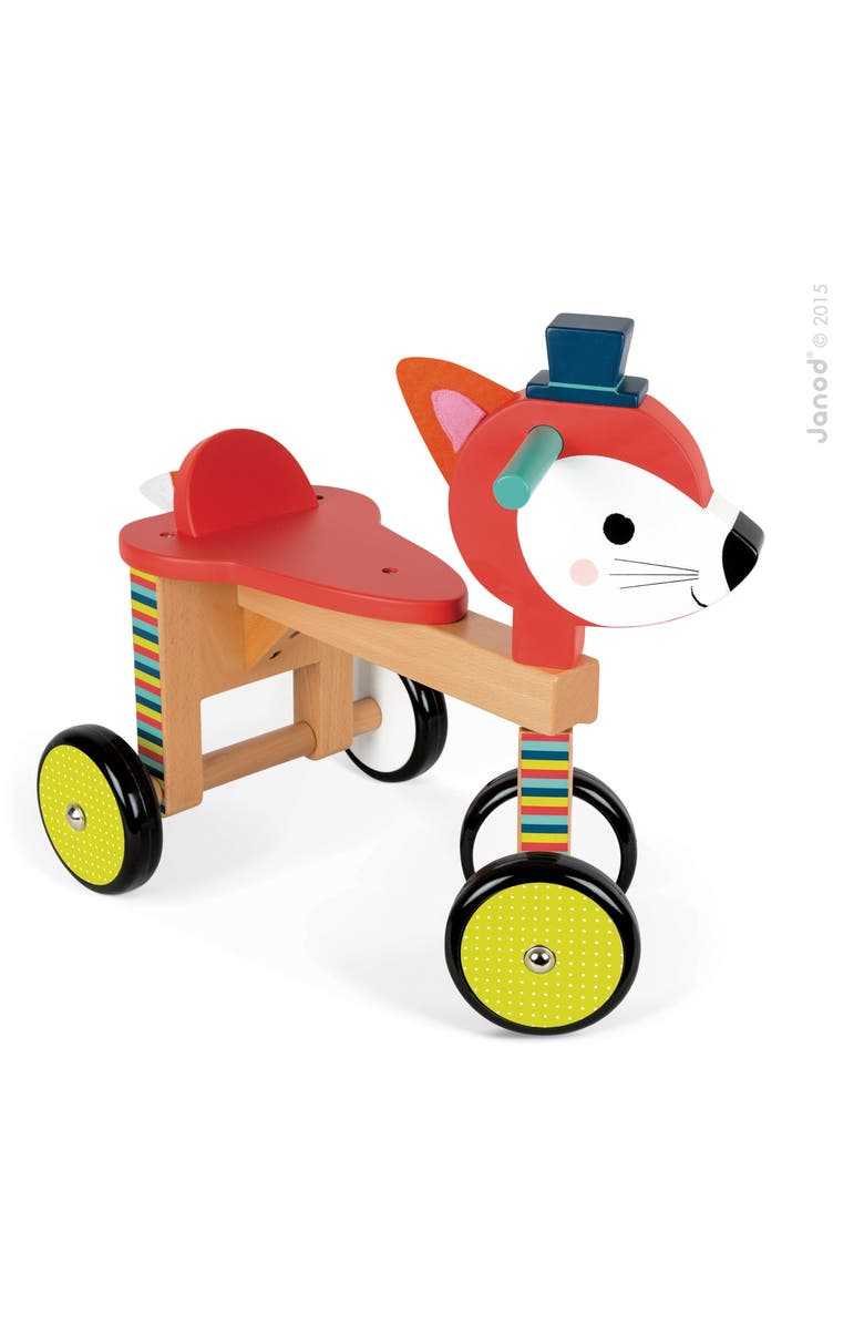 JANOD Fox Ride-On Toy, Main, color, 600