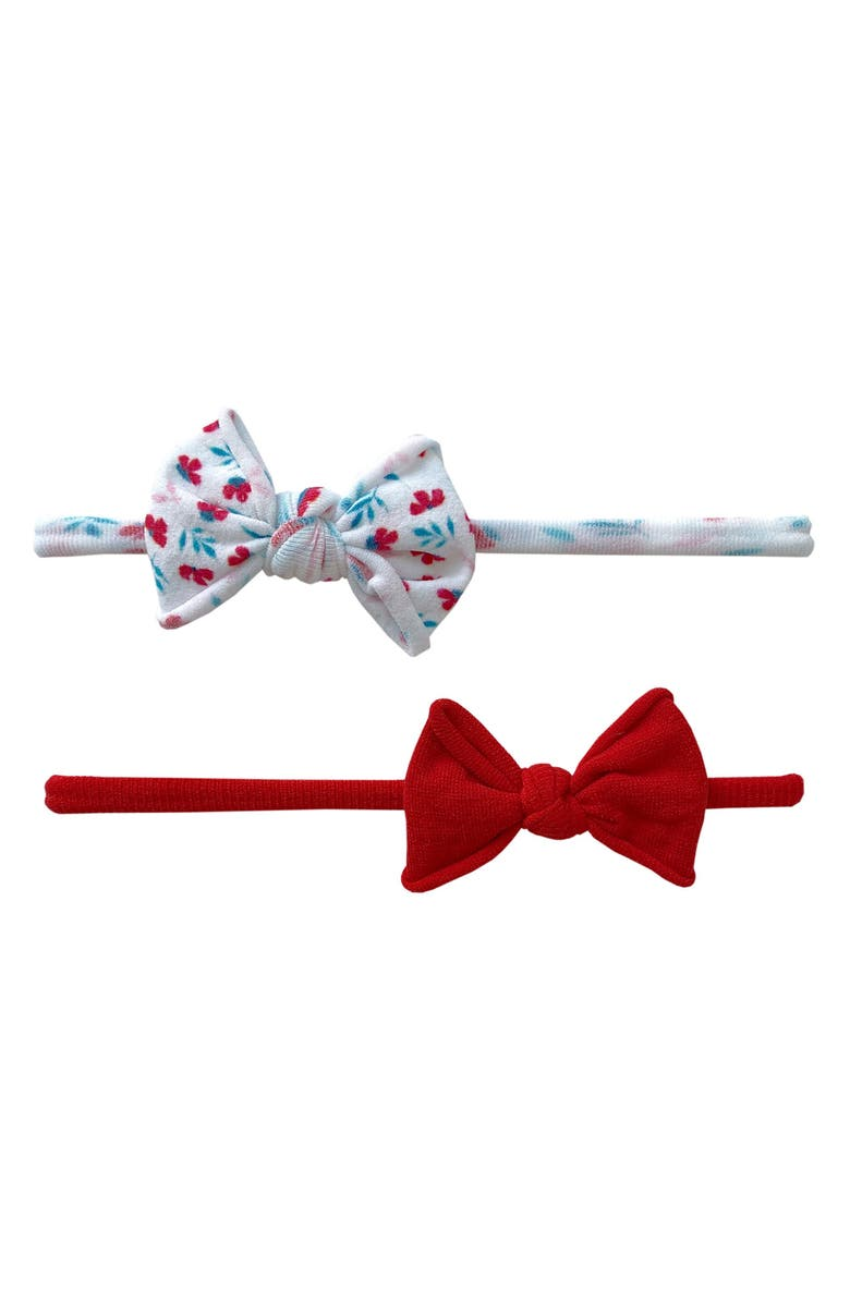 BABY BLING 2-Pack Bow Headbands, Main, color, 620