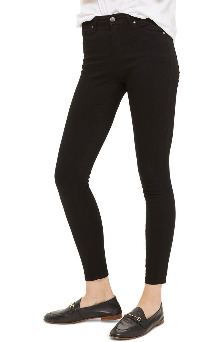 TOPSHOP Leigh Jeans, Main, color, 001