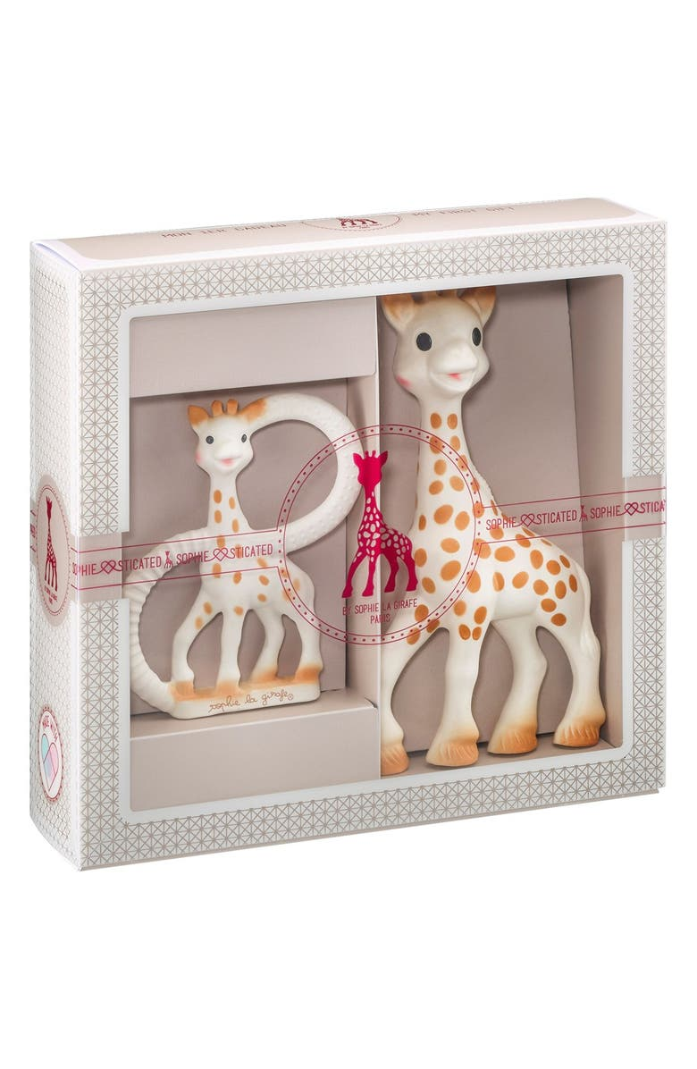 SOPHIE LA GIRAFE 'Sophiesticated' Ring Teether & Teething Toy, Main, color, CREAM