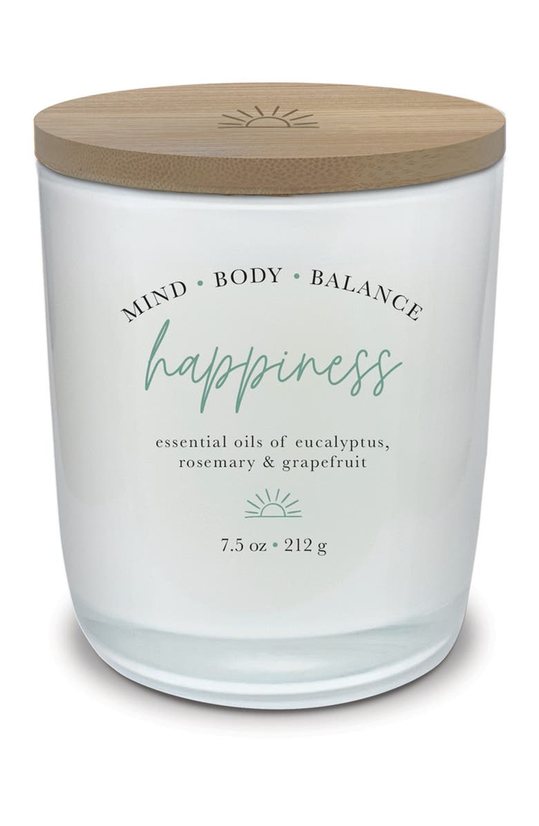 STUDIO OH HAPPINESS Aromatherapy Candle, Main, color, MULTI
