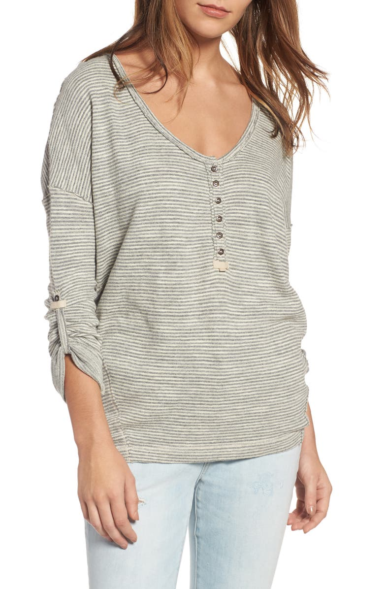 FREE PEOPLE Beach Haven Tee, Main, color, 030