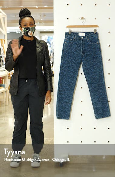 The Tomcat High Waist Ankle Straight Leg Jeans, sales video thumbnail