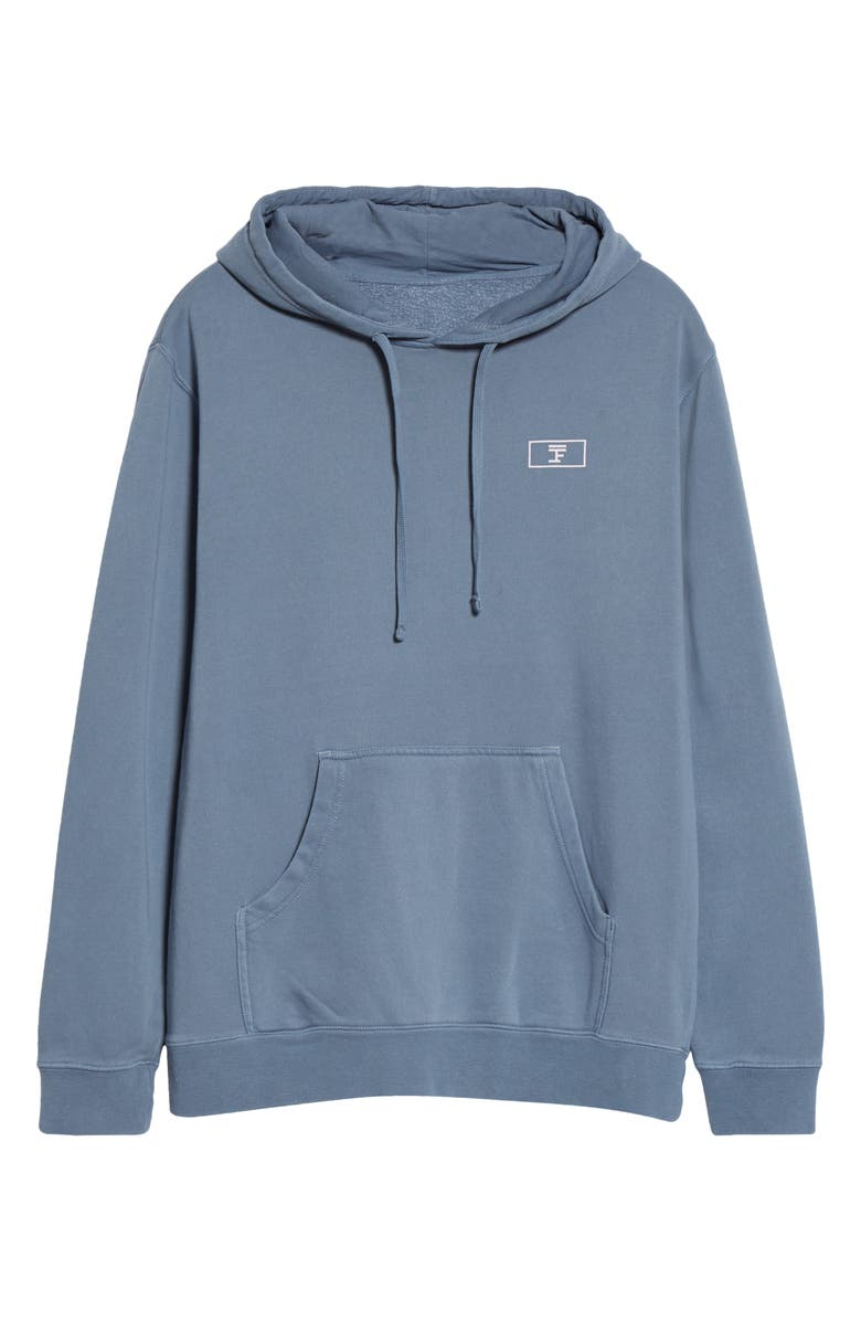 FULL COURT SPORT Logo Cotton Hoodie, Main, color, SLATE BLUE