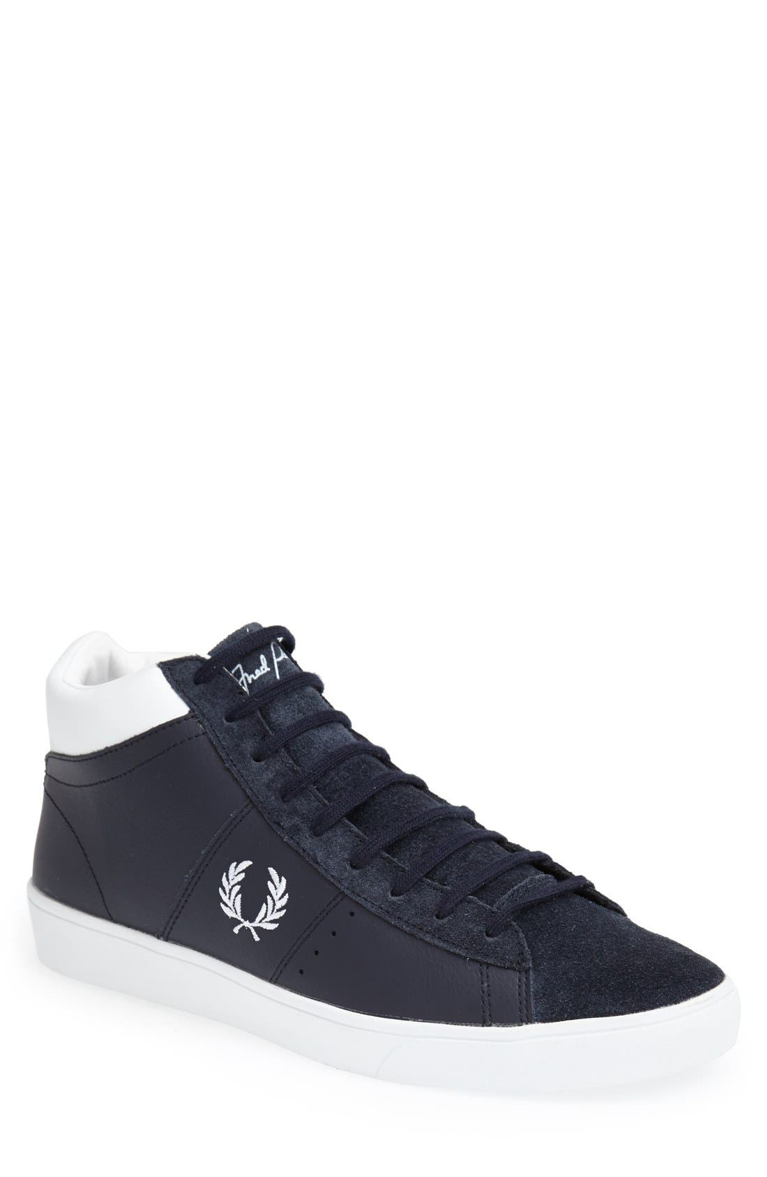 Fred Perry 'Spencer Mid' Leather