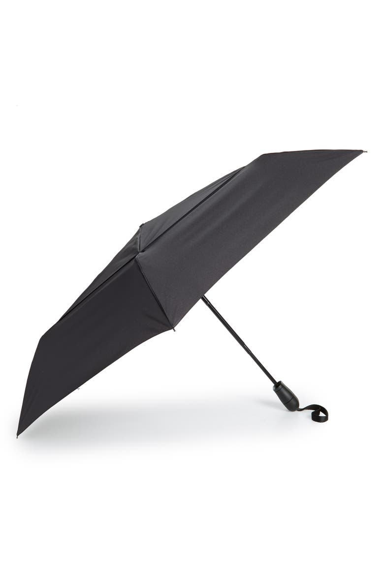 SHEDRAIN 'WindPro<sup>®</sup>' Auto Open & Close Umbrella, Main, color, NORD BLACK