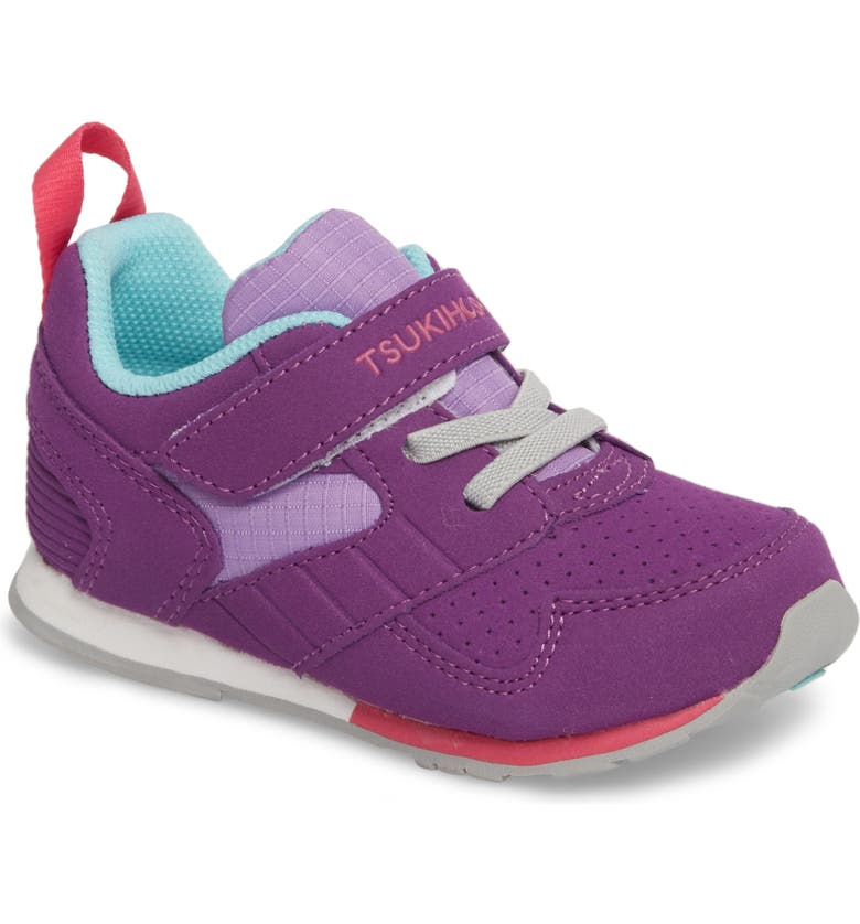 TSUKIHOSHI Racer Washable Sneaker, Main, color, PURPLE/ LAVENDER
