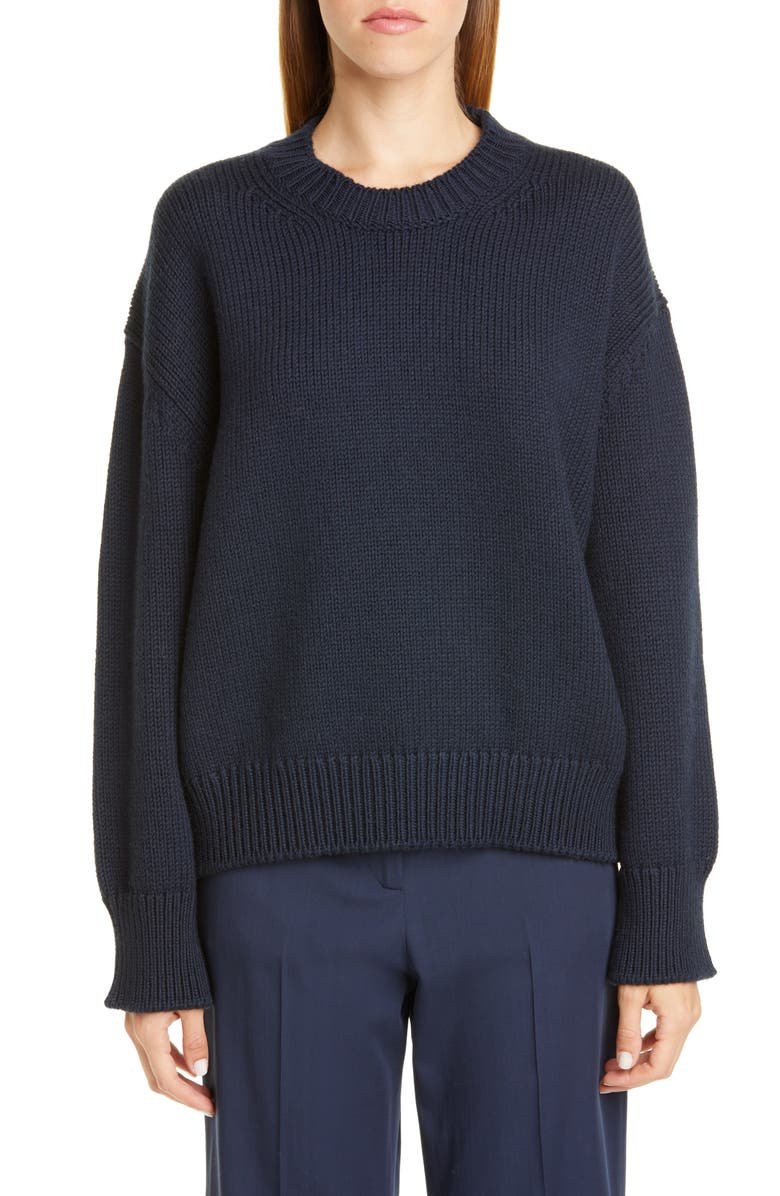 MANSUR GAVRIEL Oversize Wool Sweater, Main, color, 400
