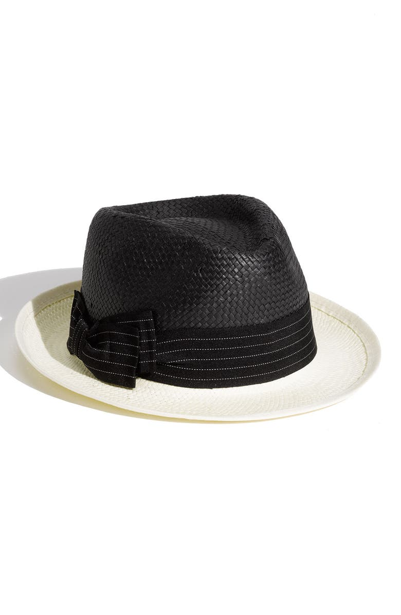 HALOGEN<SUP>®</SUP> Two Tone Fedora, Main, color, 002