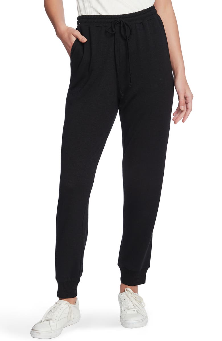 1.STATE Cozy Knit Joggers, Main, color, RICH BLACK