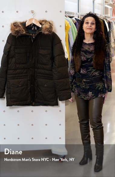 Sage Quilted Parka, sales video thumbnail