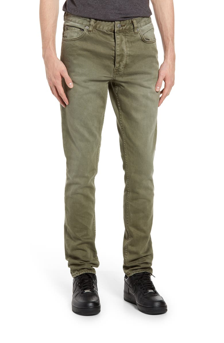 KSUBI Chitch Deep Forest Skinny Fit Jeans, Main, color, GREEN