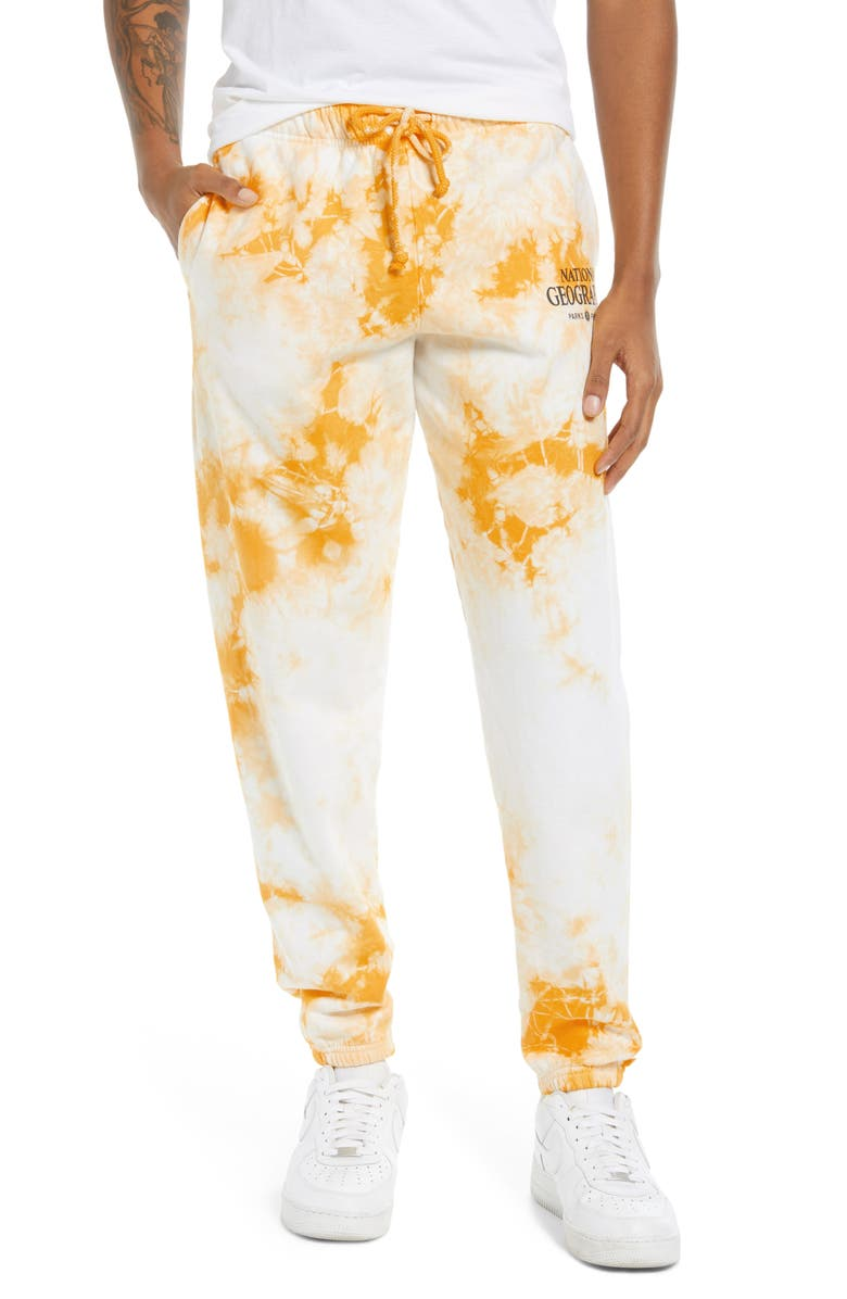 PARKS PROJECT x National Geographic Tie Dye Joggers, Main, color, TIE