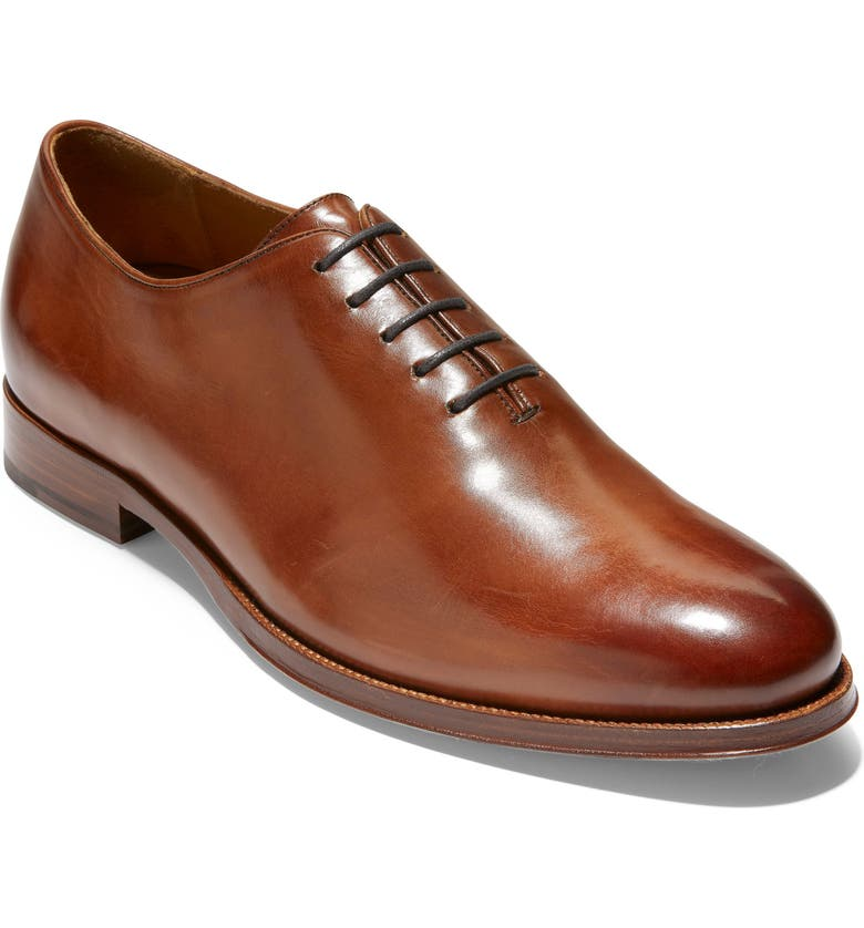 COLE HAAN American Classics Gramercy Whole Cut Shoe, Main, color, BRITISH TAN LEATHER