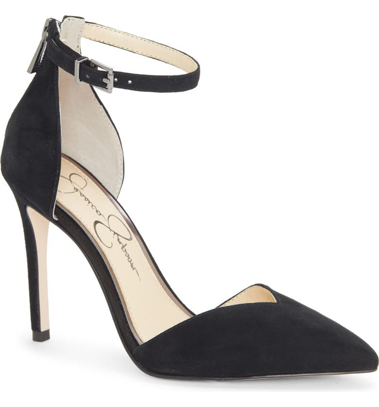 JESSICA SIMPSON Paisleah Ankle Strap Pump, Main, color, 001