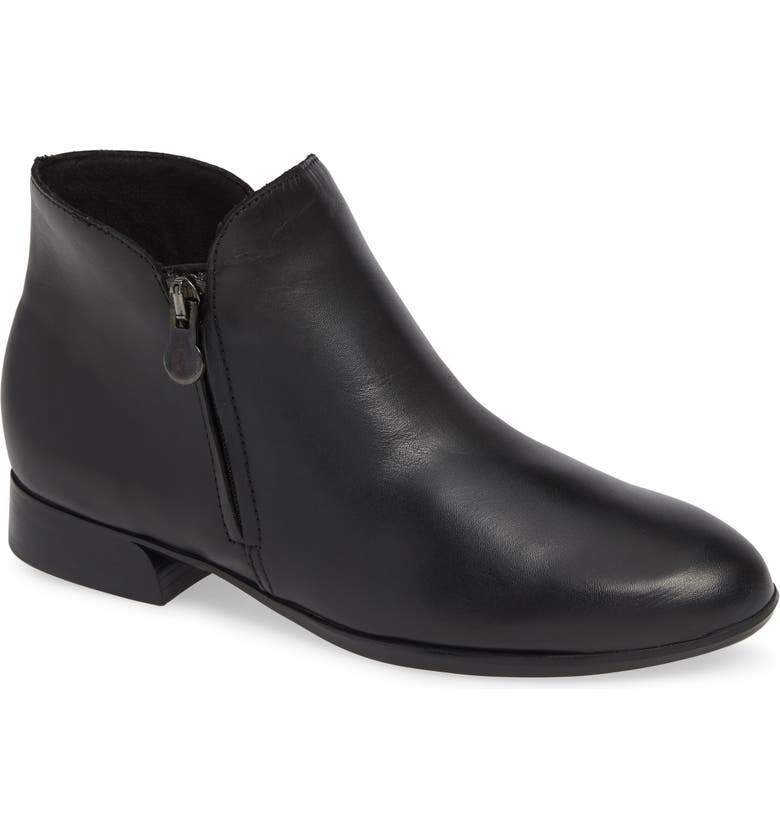 MUNRO Averee Bootie, Main, color, BLACK LEATHER