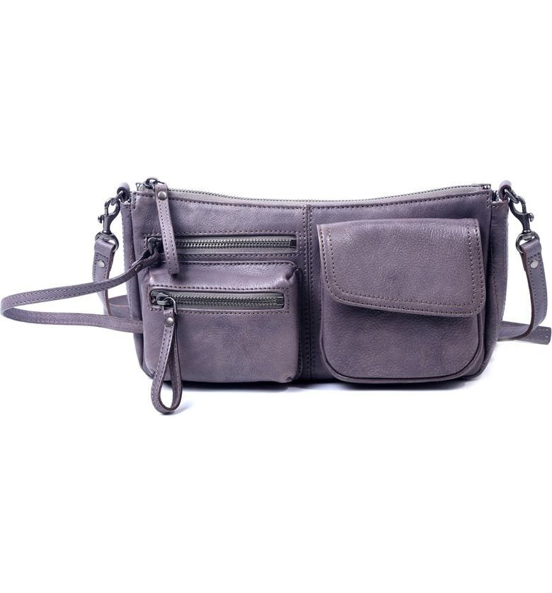 OLD TREND Cooper Leather Crossbody Bag, Main, color, TAUPE