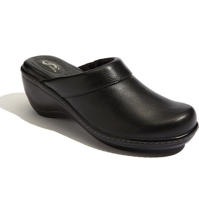 SOFTWALK<SUP>®</SUP> 'Murietta' Clog, Main, color, BLACK