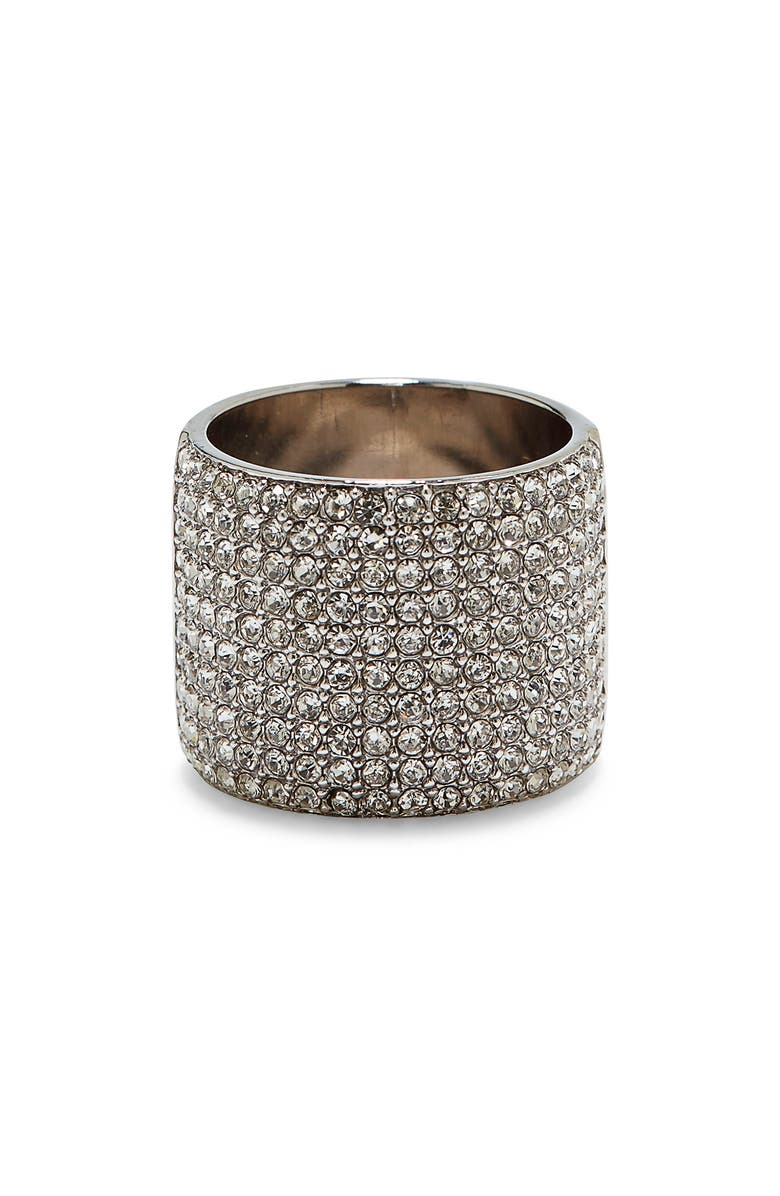 VINCE CAMUTO Pavé Cigar Band Ring, Main, color, 041