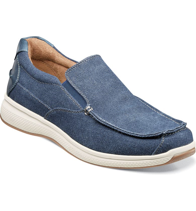 FLORSHEIM Great Lakes Slip-On, Main, color, NAVY CANVAS