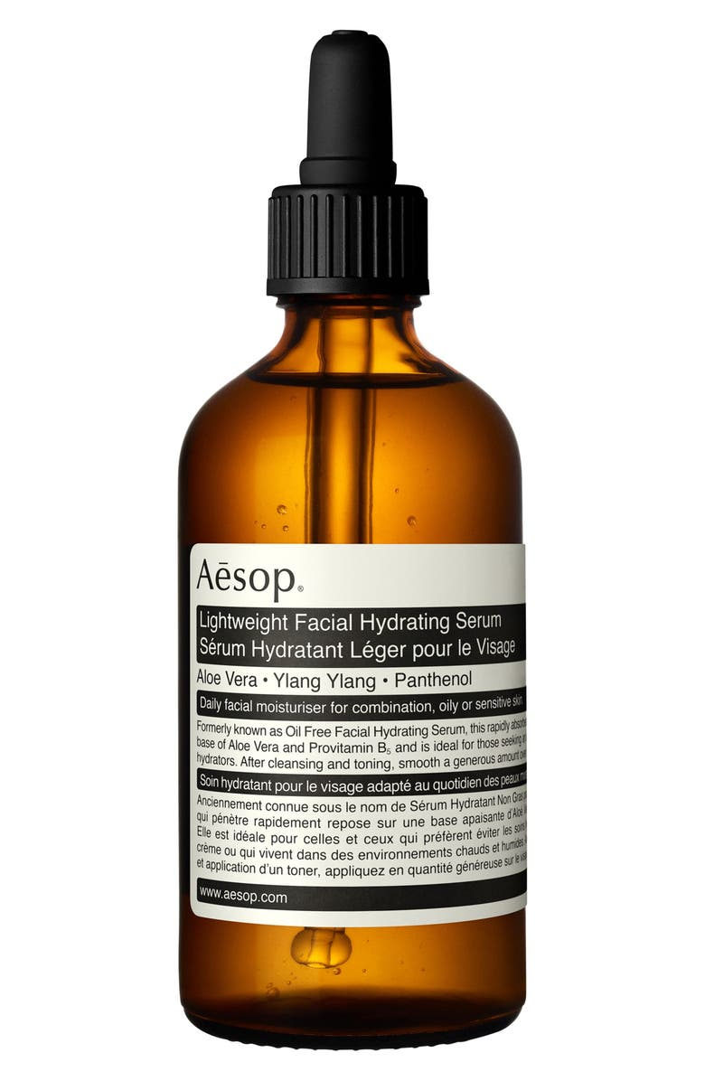 AESOP Lightweight Facial Hydrating Serum, Main, color, NONE