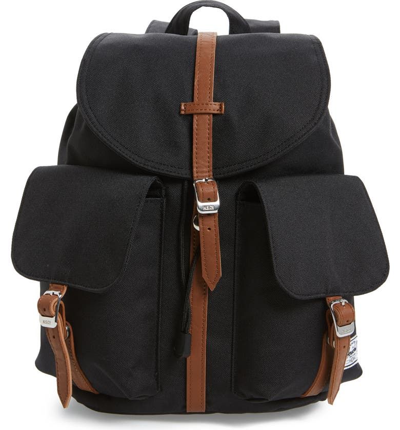 HERSCHEL SUPPLY CO. X-Small Dawson Backpack, Main, color, Black