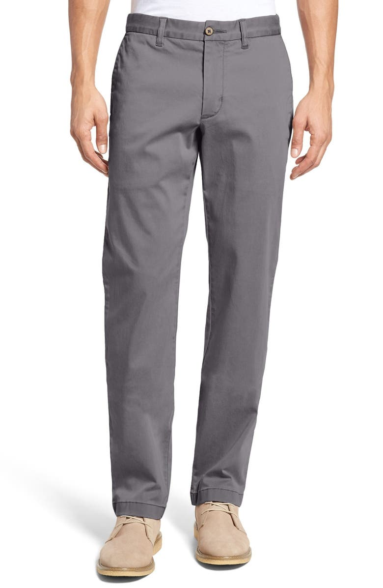 TOMMY BAHAMA Boracay Straight Leg Chinos, Main, color, FOG GREY