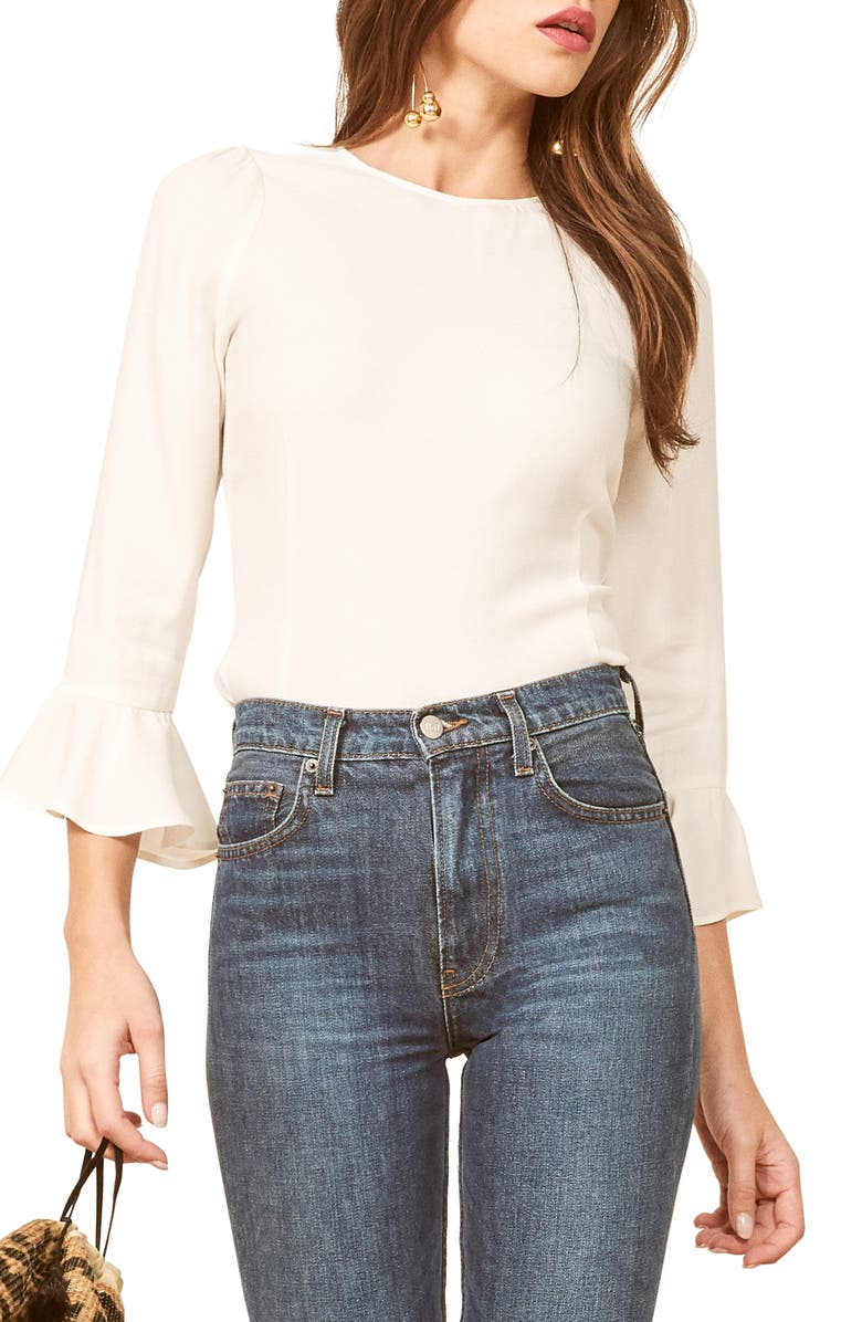 REFORMATION Virginia Top, Main, color, 100