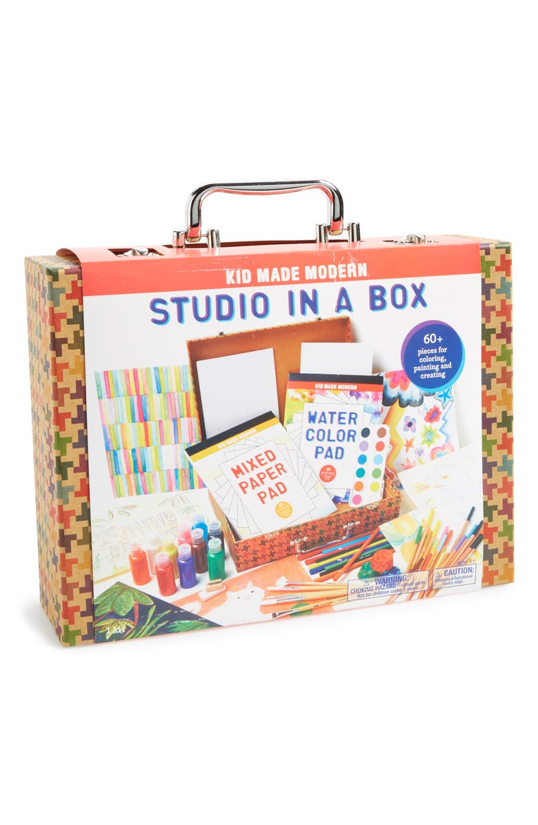 KID MADE MODERN Studio In A Box Kit, Main, color, 100