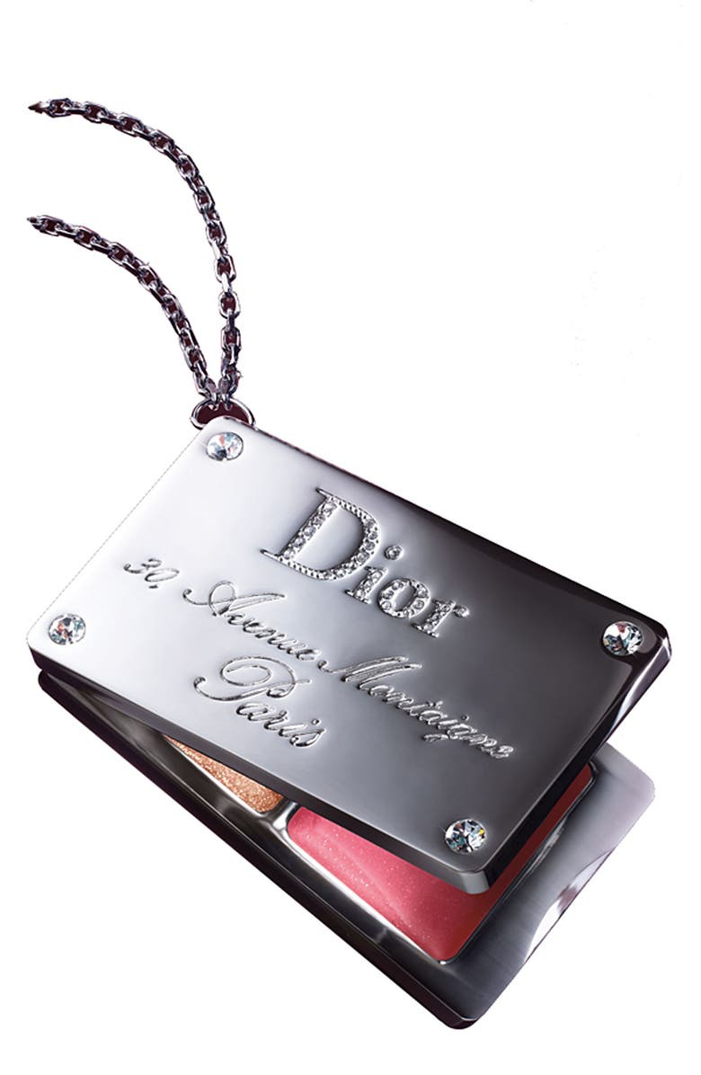 DIOR 'Addicted to Dior' Lip Gloss Luggage Tag, Main, color, 000