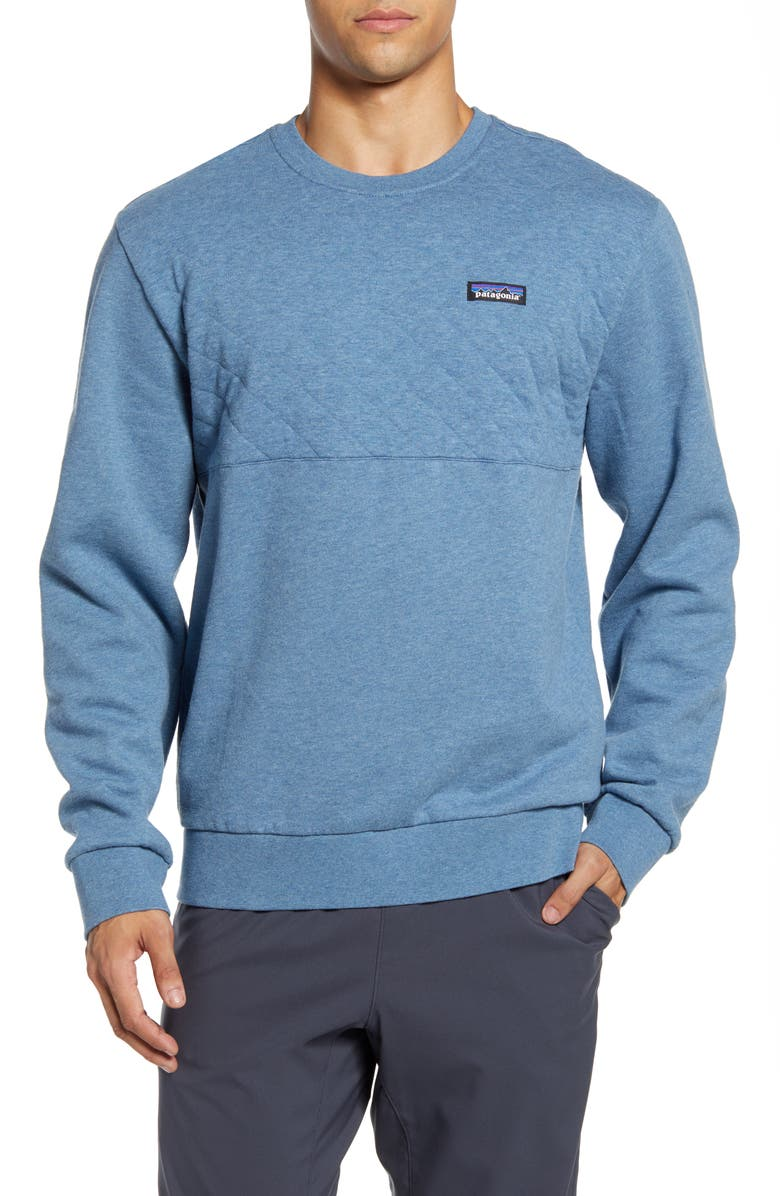 PATAGONIA Quilted Sweatshirt, Main, color, 401