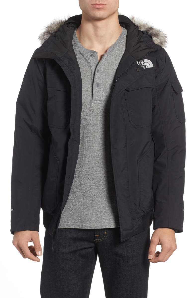 THE NORTH FACE Gotham III Waterproof Down Jacket, Main, color, 001