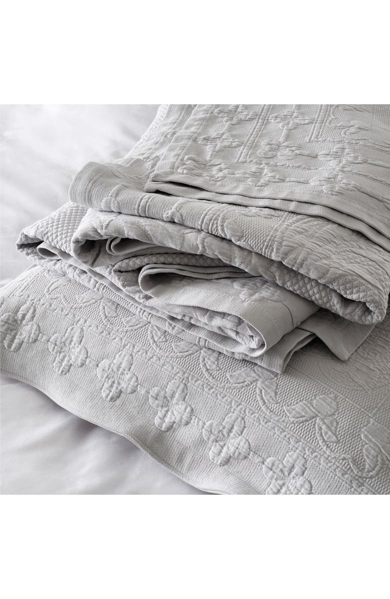 THE WHITE COMPANY Vintage Etienne Bedspread, Main, color, 020