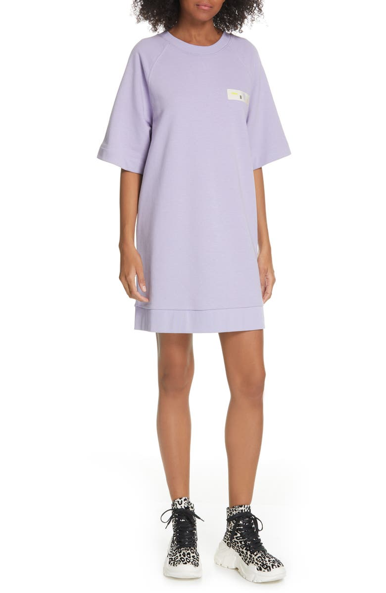 TIBI Sweatshirt Dress, Main, color, 531