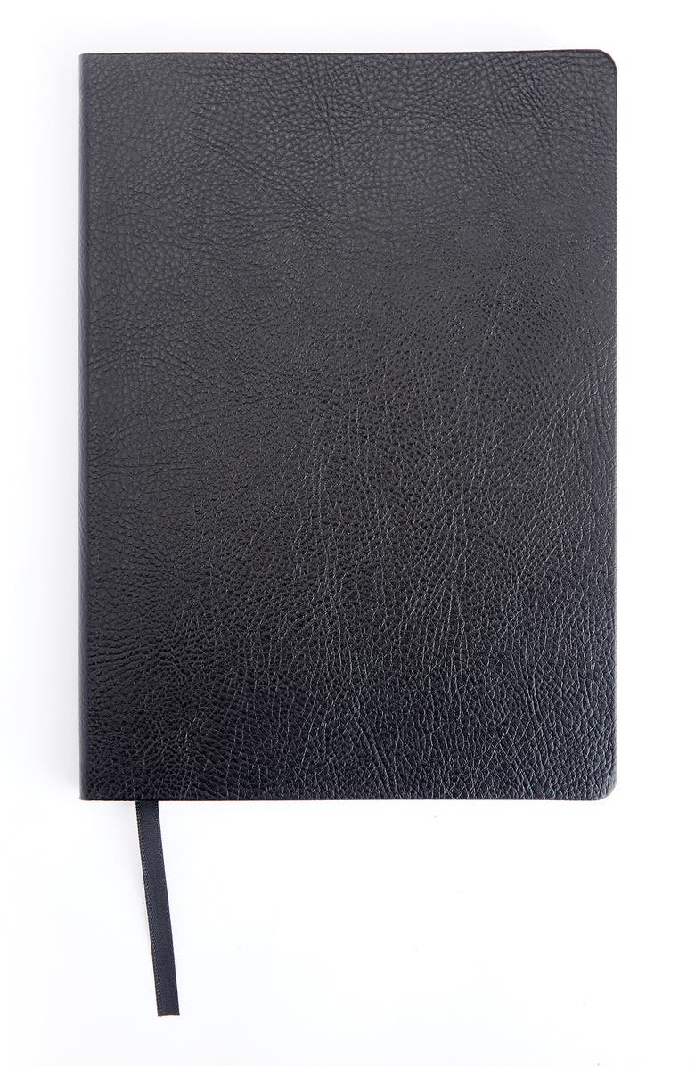 ROYCE Contemporary Leather Journal, Main, color, Black