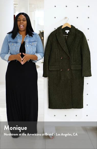 Kim Bouclé Coat, sales video thumbnail