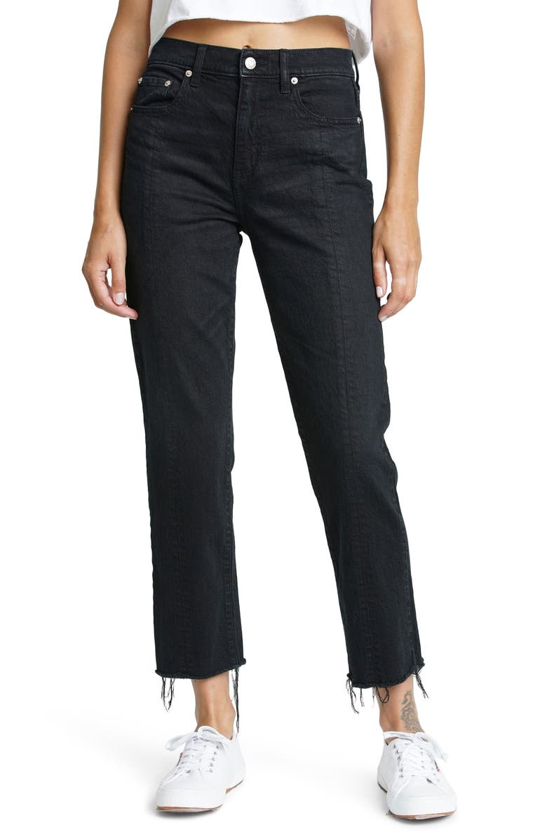 DAZE Straight Up Ankle Jeans, Main, color, CURFEW