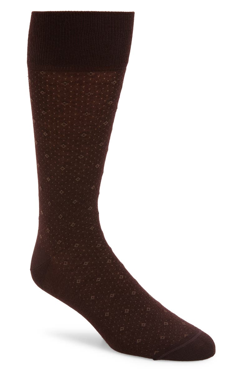 NORDSTROM SIGNATURE Diamond Socks, Main, color, 930