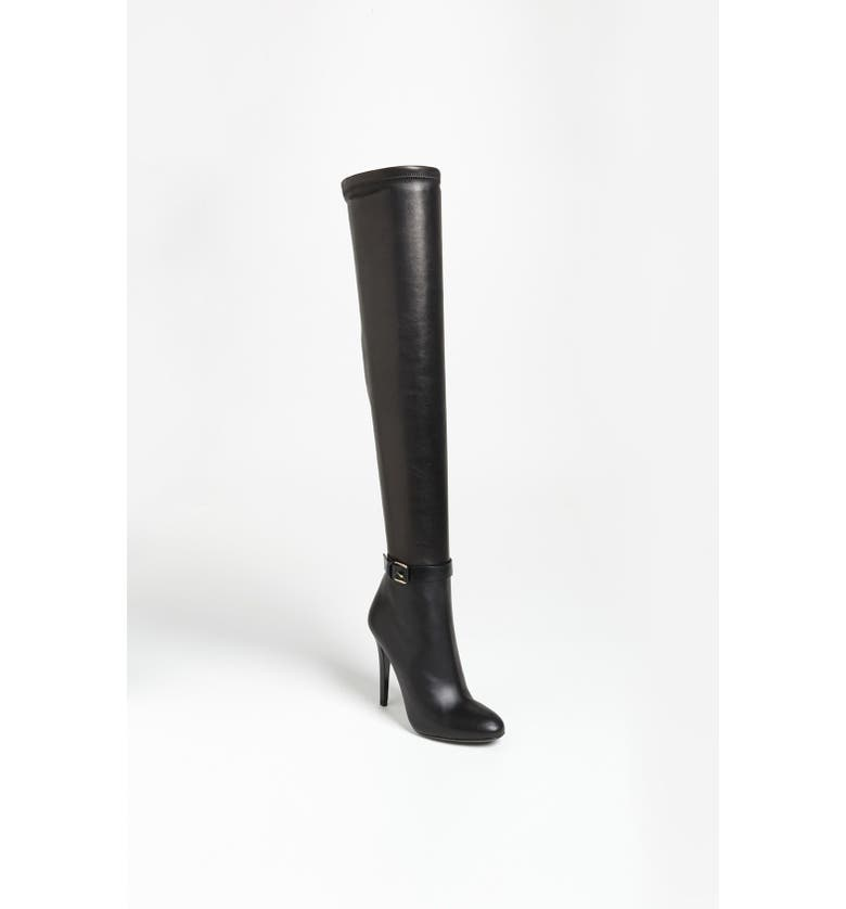 JIMMY CHOO 'Tamba' Over the Knee Boot, Main, color, 001